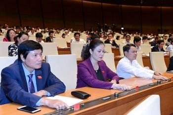 hom nay 106 bieu quyet thong qua nghi quyet ve chuong trinh giam sat cua quoc hoi nam 2020