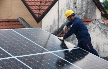 Khơi thông tài chính cho điện mặt trời mái nhà