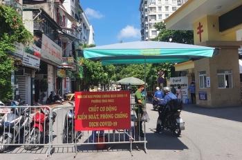 Hà Nội: Quận Ba Đình đã xử phạt 200 trường hợp vi phạm quy định phòng chống dịch