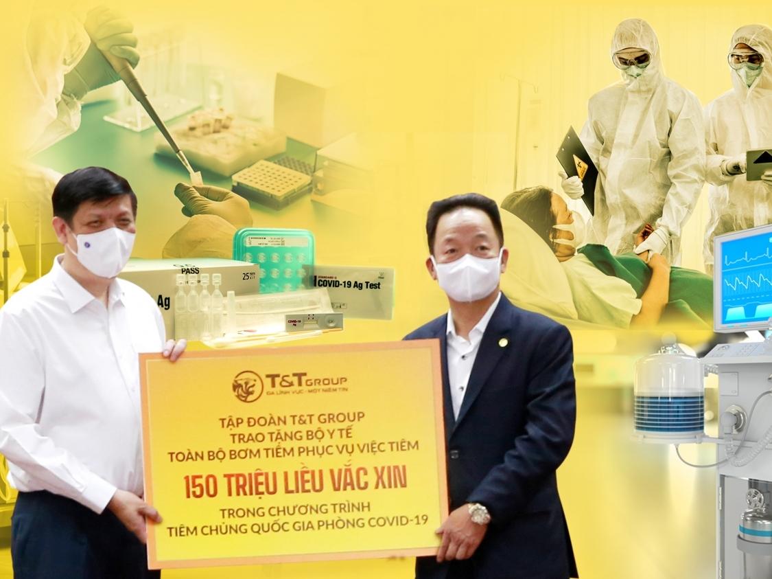 T&T Group tài trợ 20 tỷ đồng mua trang thiết bị y tế giúp một số địa phương phòng, chống dịch COVID-19