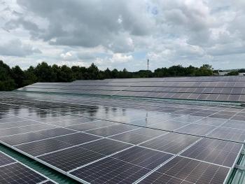 Giải thể một công ty về điện mặt trời