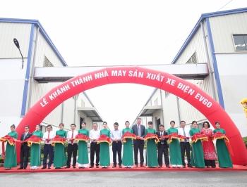 Tập đoàn Sơn Hà khánh thành nhà máy sản xuất xe điện EVgo tại Bắc Ninh