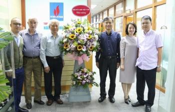 Lãnh đạo Hội Dầu khí Việt Nam chúc mừng Tạp chí Năng lượng Mới - PetroTimes nhân kỷ niệm 10 năm Ngày ra số đầu tiên