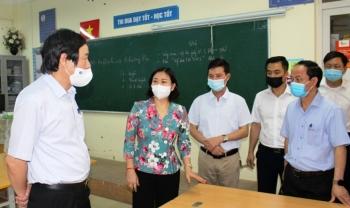 Hà Nội lập 15 đoàn kiểm tra công tác phòng, chống dịch Covid-19 của kỳ thi lớp 10 và tốt nghiệp THPT