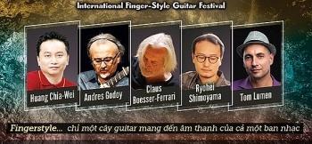 lien hoan guitar fingerstyle quoc te tai viet nam 2018