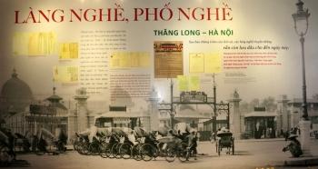 Trưng bày hơn 130 tư liệu quý về làng nghề, phố nghề Thăng Long - Hà Nội