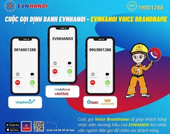 EVNHANOI triển khai hệ thống định danh cuộc gọi để liên lạc với khách hàng