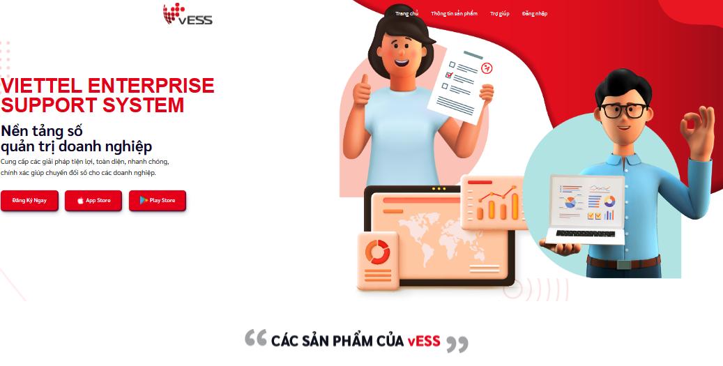 vESS - Nền tảng giúp doanh nghiệp chuyển đổi số