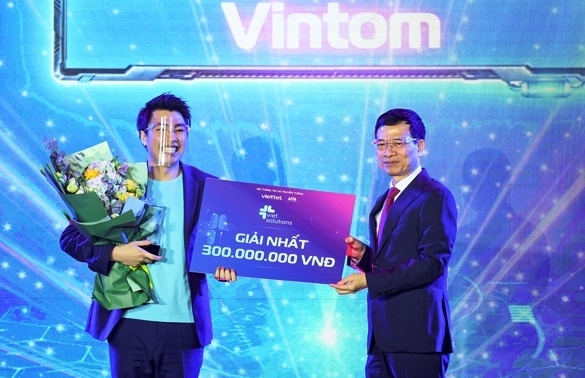 Giải pháp thuộc lĩnh vực Tài chính - Ngân hàng giành giải Nhất cuộc thi Viet Solutions 2021