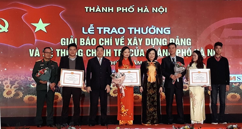 76 tác phẩm đoạt giải thưởng báo chí về xây dựng Đảng và phát triển văn hóa TP Hà Nội