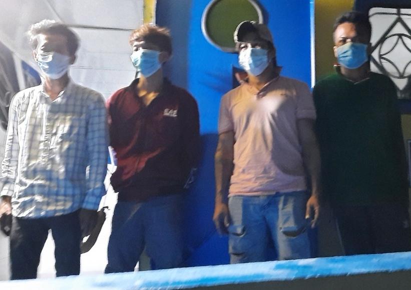 Phú Quốc: Bắt giữ và cách ly 7 người nhập cảnh trái phép từ Campuchia