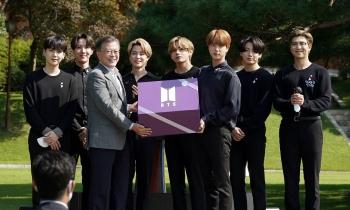 BTS trở thành đặc phái viên ngoại giao công chúng của Tổng thống Hàn Quốc