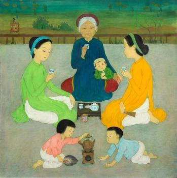 Hàng loạt tranh của danh họa Việt được đấu giá cao tại Pháp
