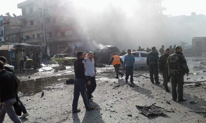 Đánh bom kép ở Syria: 26 người chết