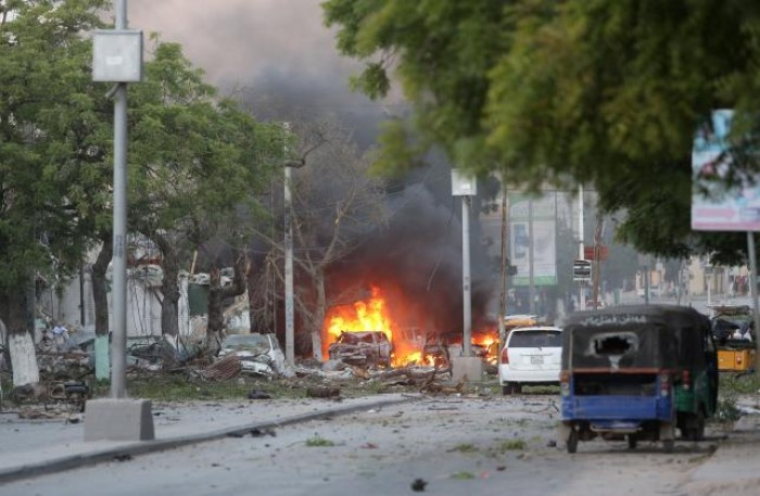 Đánh bom ở thủ đô Somali: 15 người thiệt mạng