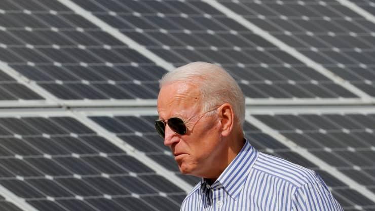 Chính quyền Biden đề ra kế hoạch năng lượng mặt trời cung cấp 45% nguồn điện vào năm 2050