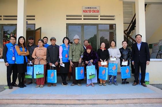 BSR tặng quà Tết tại Quảng Nam, Quảng Ngãi