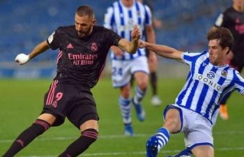 Link xem trực tiếp Real Madrid vs Real Sociedad (La Liga), 3h ngày 2/3