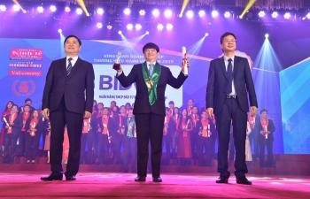 bidv top 10 doanh nghiep thuong hieu manh viet nam 2018