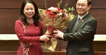 Bà Võ Thị Ánh Xuân đắc cử chức vụ Phó Chủ tịch nước