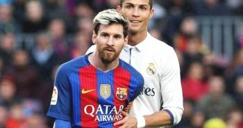 """Messi bị """"trói"""" trong lời nguyền C.Ronaldo ở Siêu kinh điển"""