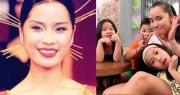 """Á hậu """"đông con nhất showbiz"""" Ngô Thúy Hà tái xuất xinh đẹp ở tuổi 40"""