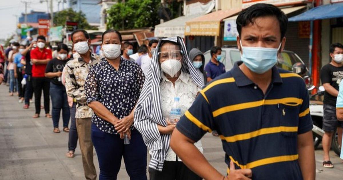 Campuchia trải qua ngày u ám, Thái Lan phá kỷ lục số người chết vì Covid-19