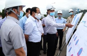 """Tập trung cao độ, """"xắn tay"""" cùng với EVN để đảm bảo tiến độ thi công Dự án NMTĐ Hòa Bình mở rộng"""