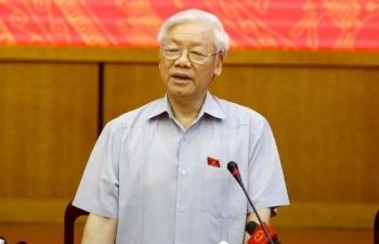 trung uong gioi thieu dong chi nguyen phu trong de quoc hoi bau lam chu tich nuoc