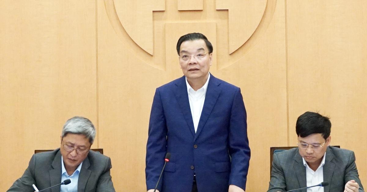 """Ông Chu Ngọc Anh: """"Hà Nội mà """"bung dịch"""" thì tôi chịu trách nhiệm!"""""""