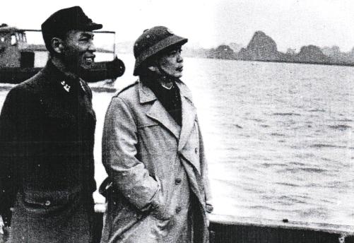 Đại tướng Võ Nguyên Giáp với biển, đảo Tổ quốc