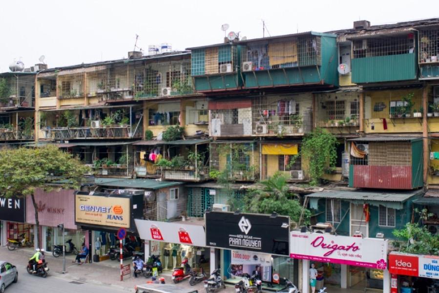 Chung cư cũ có thể được bồi thường gấp đôi diện tích từ ngày 1/9