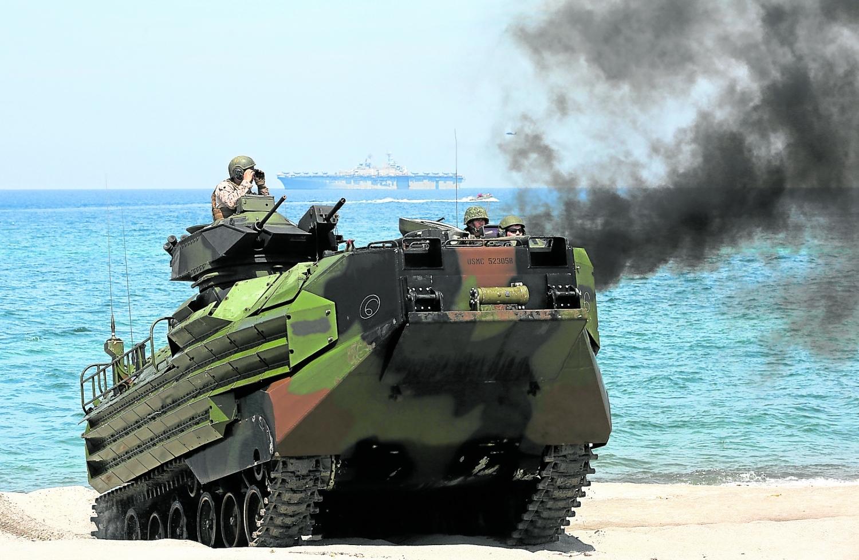 Mỹ - Philippines tập trận chung giữa căng thẳng với Trung Quốc