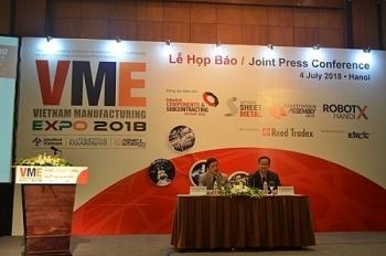 Vietnam Manufacturing Expo 2018 với điểm nhấn về công nghệ nhà máy thông minh