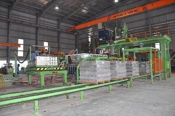 Công nghệ sản xuất vật liệu xây không nung- Bước tiến mới của doanh nghiệp Việt
