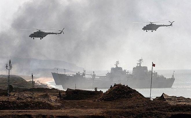 Hơn 100 máy bay tham gia tập trận quy mô lớn ở miền Nam nước Nga