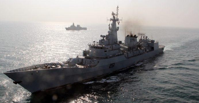 Pakistan điều tàu khu trục Zulfiquar tham gia tập trận chung với Nga