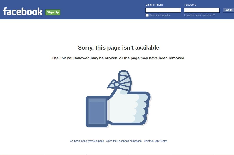 ke ho chet nguoi cua facebook khien nguoi dung bi mat tai khoan oan