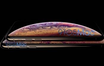 apple vo tinh de lo ten goi va hinh anh iphone xs truoc ngay ra mat