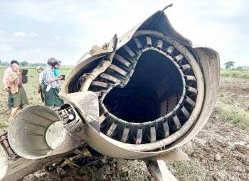 Chiến đấu cơ Myanmar gặp nạn khiến 3 người thiệt mạng