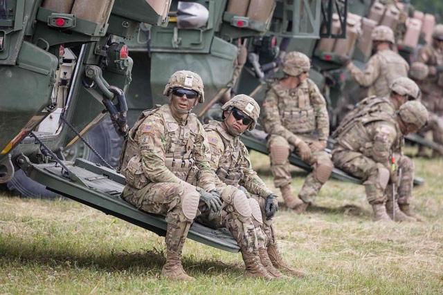 4 binh sĩ Mỹ bị thương trong vụ tai nạn ở Na Uy
