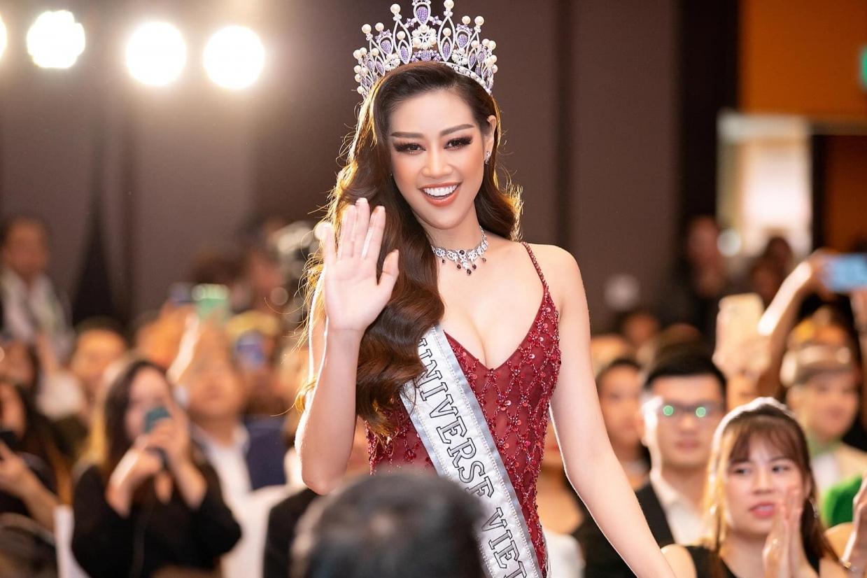 Hoa hậu Khánh Vân được fan đặt nhiều kỳ vọng tại Miss Universe 2021