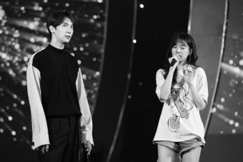 hari won to ra cang thang truoc them concert
