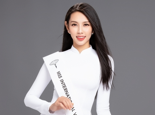 nguoi dep nguyen thuc thuy tien thay a hau thuy an thi miss international 2018