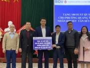 Nghệ An: BIDV Xuân yêu thương 2021 cùng bà con xã Nghĩa Lạc và phường Quang Tiến