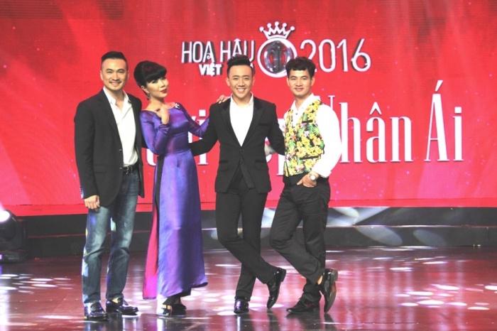 Trấn Thành 'phát cuồng' vì bản sao HH Nguyễn Thị Huyền