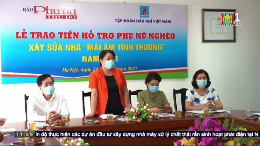 Petrovietnam phối hợp với Báo Phụ nữ Thủ đô hỗ trợ phụ nữ nghèo trên địa bàn Hà Nội