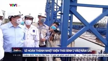 Phó Thủ tướng Lê Văn Thành kiểm tra NMNĐ Thái Bình 2