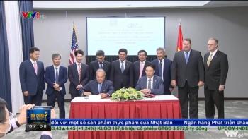 Lễ  ký kết thoả thuận liên  doanh  thành lập Công  ty  TNHH  kho  cảng LNG Sơn Mỹ