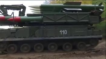 Cận cảnh tổ hợp tên lửa S-300 Nga chuyển cho Syria trong đêm